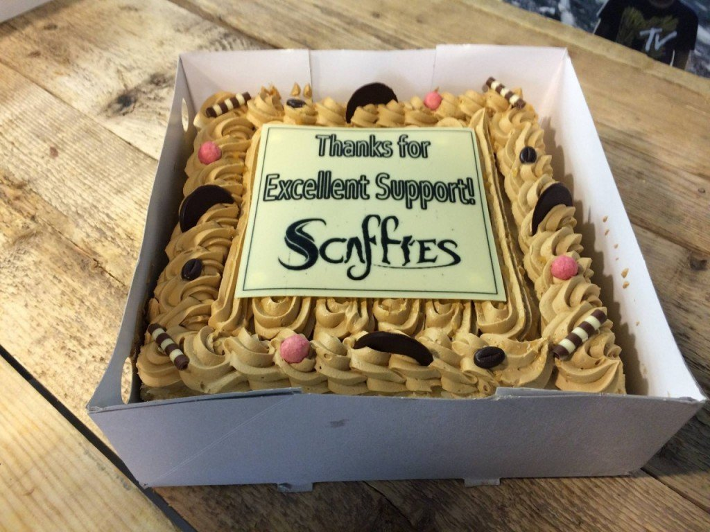 Scaffies Cake